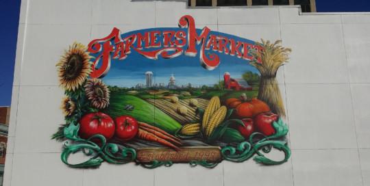Farmes MArket Mural Springfield Illinois