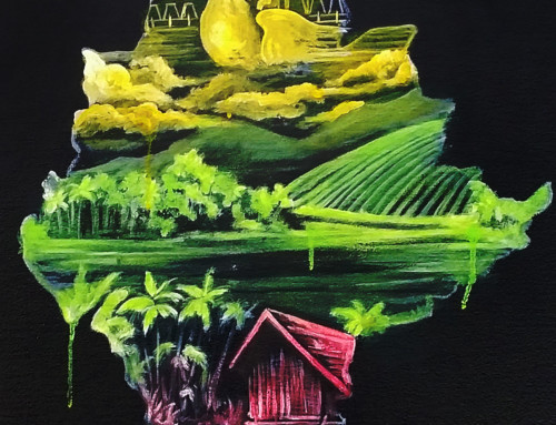 Myanmar Hope Charity Dinner Performance Painting