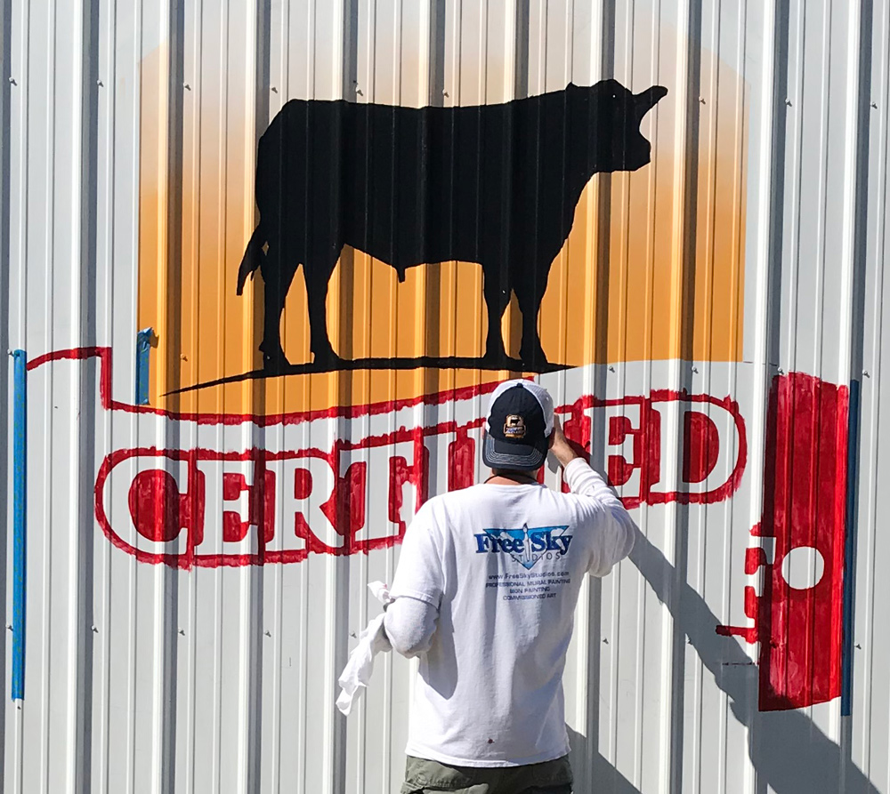 barn painter certified angus beef