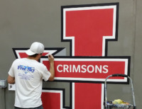 gym logo painting jacksonville illinois