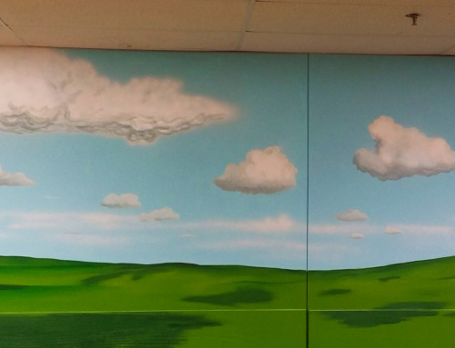 Warehouse Landscape Mural – Goodwill Industries