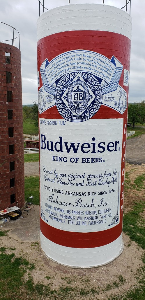 Budwesier silo painting fort smith final