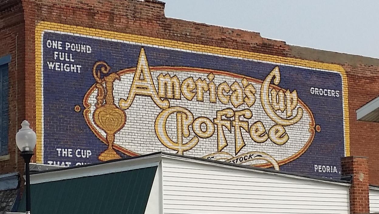Americas Cup mural restoration