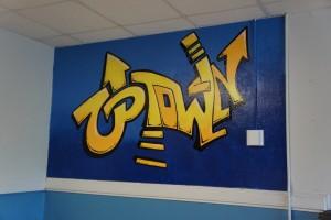 sharefest school mural painting