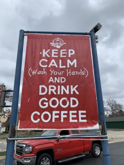 keep calm grab a java banner