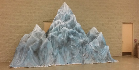 stage prop mountain fabrication
