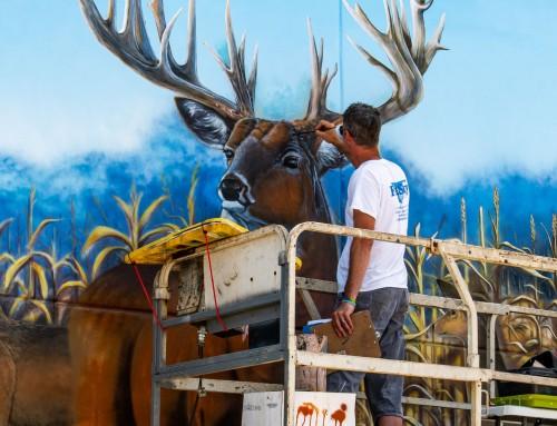 Whitetail Properties Dream Buck Mural
