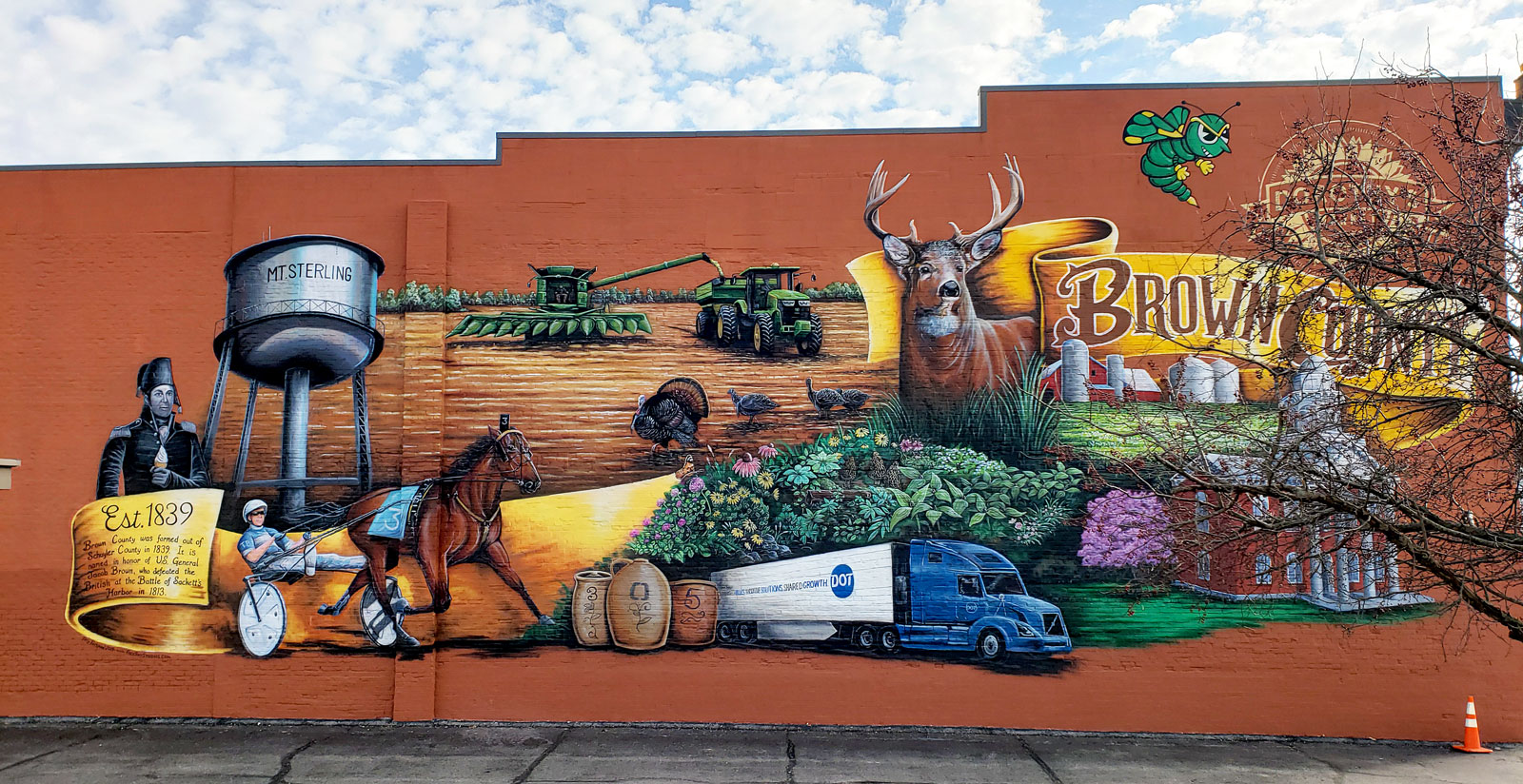Brown County Community Mural Painting