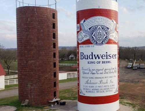 Budweiser Silo Mural
