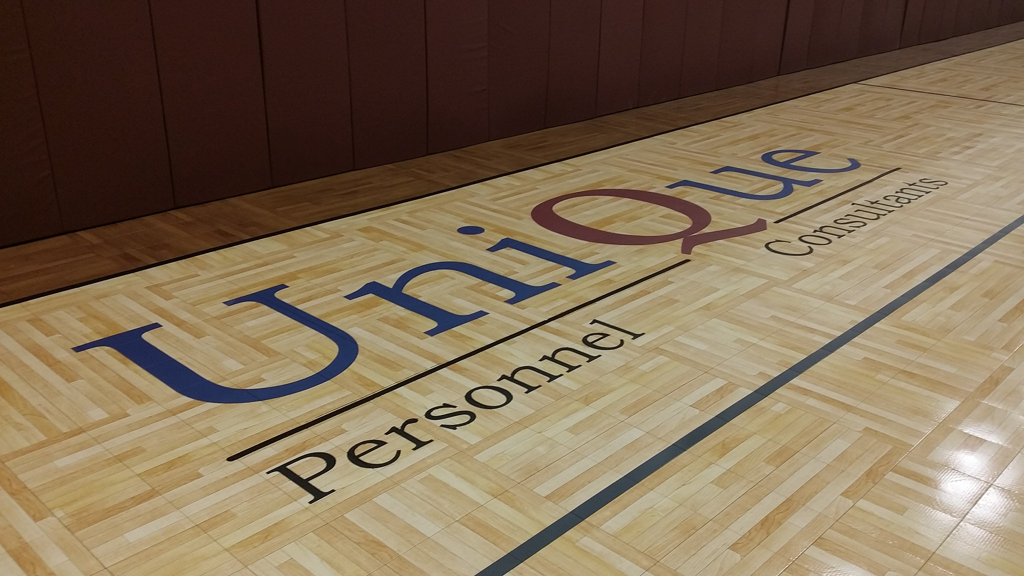 gym logo painting