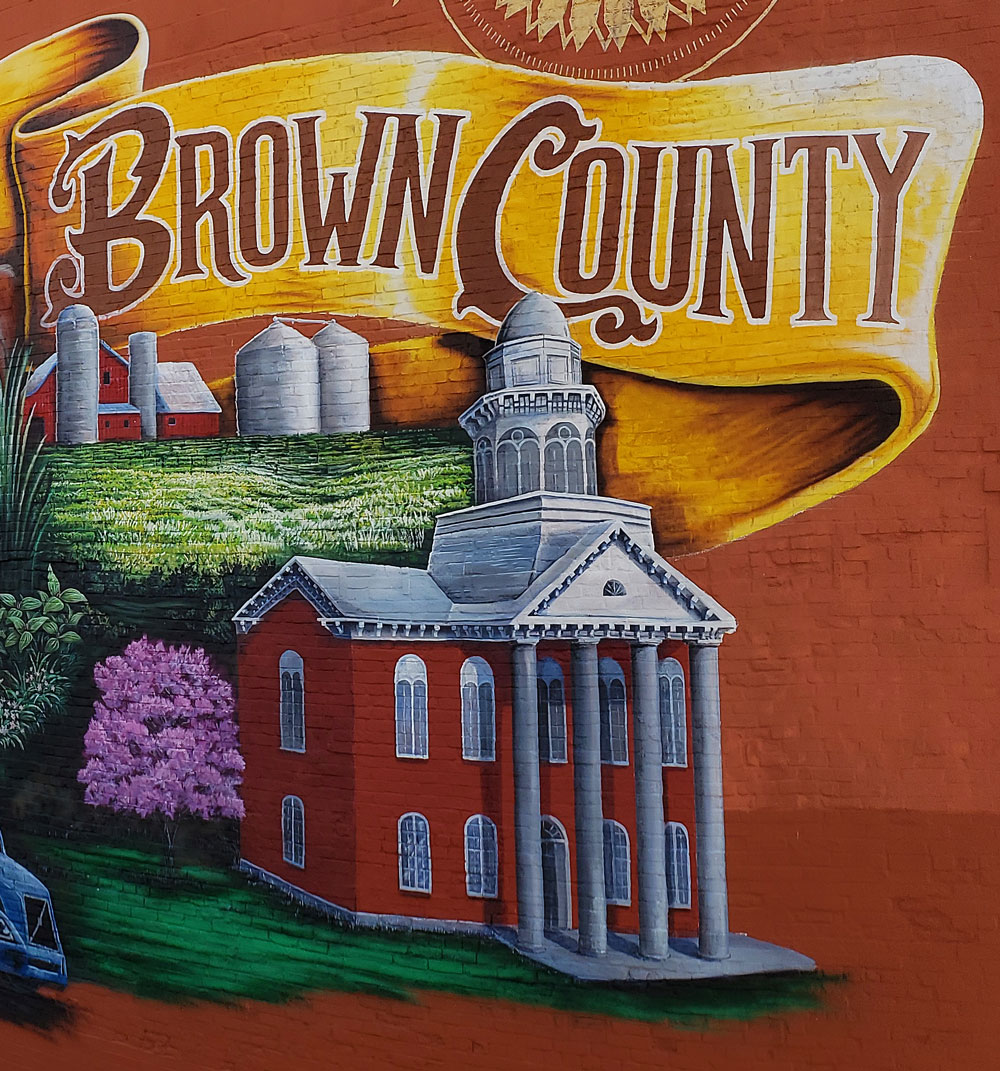 brown county mural painting