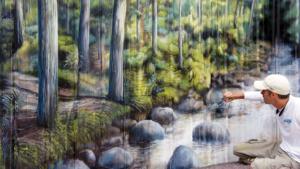 oregon landscape mural springfield illinois