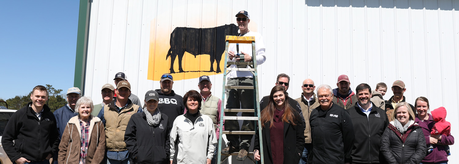 brand the barn painting group photo